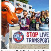 Zahlen zu Tiertransporten