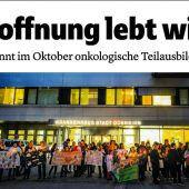 Land prüft Zusammenarbeit mit Kinderonkologie St. Gallen