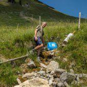 Vorarlberg trocknet immer mehr aus