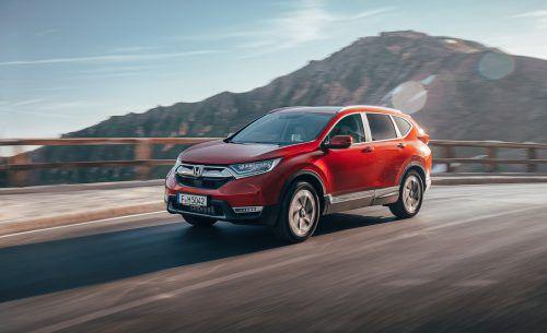 """""""Weltmeister"""" Honda CR-V: Selbstzünder out, nur noch ein Benziner. Werk"""