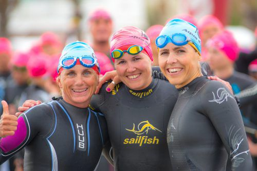 Yvonne Van Vlerken, Daniela Bader und Bianca Steurer (v. l.).privat