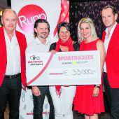 40.000 Euro für Geben für Leben