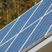 Photovoltaikanlagen werden gefördert