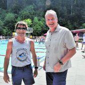 Schwimmbad in der Riebe feierte Jubiläum