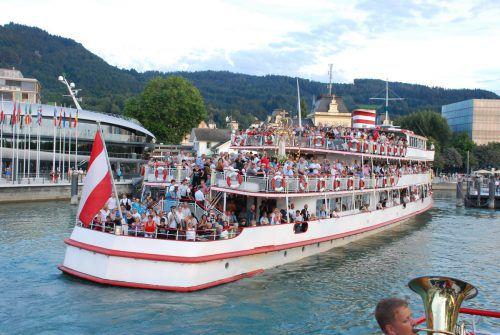 4000 Pilger werden zur großen Fatima Schiffswallfahrt am Bodensee erwartet. katholische Kirche
