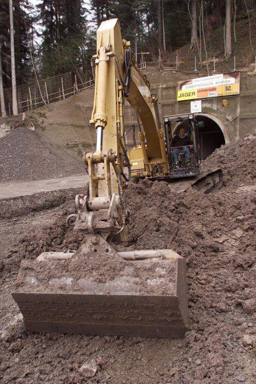 80 Millionen Euro teurer: Kostenexplosion beim Bau des Achraintunnels.VN/HB
