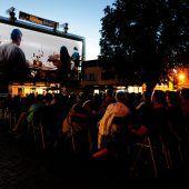 In Rankweil wird wieder unterm Sternenhimmel Kino geschaut