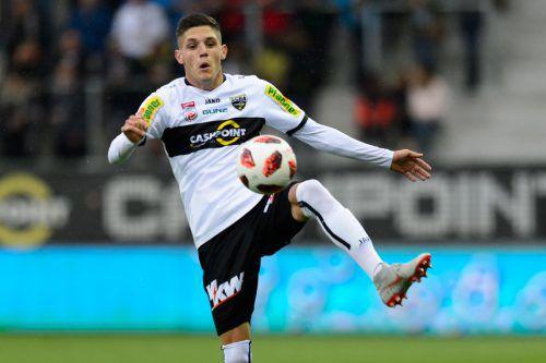 Altach-Kicker Emir Karic bestritt bereits zwei Länderspiele für das U21-Nationalteam.VN-StiPLOVSEK