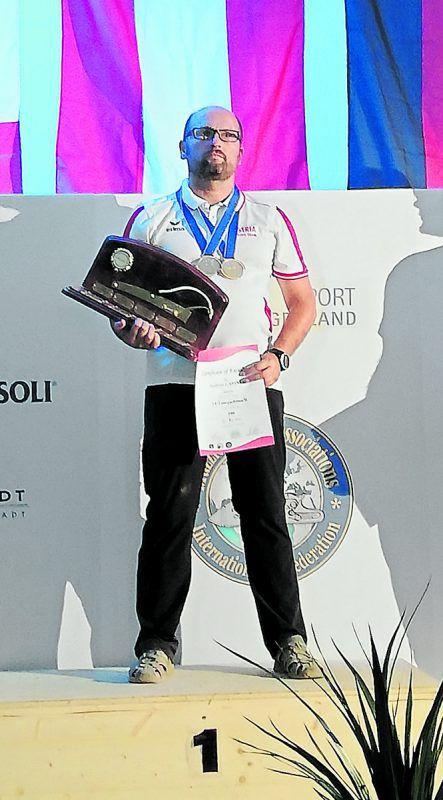 Andreas Gassner feierte in Eisenstadt seine erfolgreichste WM-Ausbeute. Verband