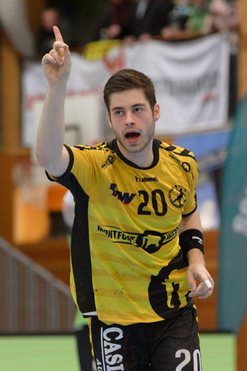 Ante Esegovic war mit acht Treffern bester Werfer im Testspiel gegen St. Gallen.verein