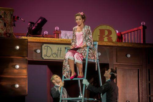"""Auch die witzige Größe bewirkt Großartiges: """"Der Barbier von Sevilla"""" wird am 13., 14., 16. und 18. August im Theater am Kornmarkt in Bregenz aufgeführt.VN/Paulitsch"""