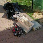 Aktion scharf gegen Müllsünder