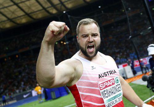 Auf 65,14 Meter warf Lukas Weißhaidinger den Diskus, sein Bronze ist für Österreich Medaille Nummer zehn in der Geschichte von Freiluft-Europameisterschaften. reuters