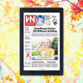 Zur VN-Digital gibt es als Messebonus ein gratis Tablet