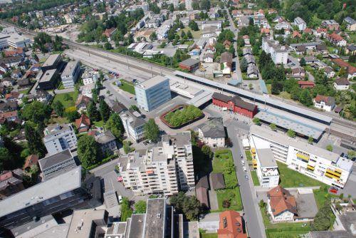 Aufwertung des Bahnhofquartiers.STD