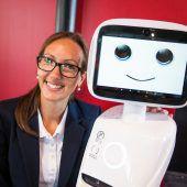 Roboter zu Gast im Messequartier