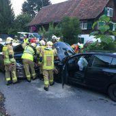 Frontalkollision in Lustenau