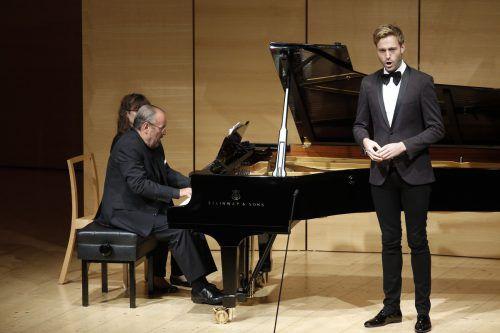 Benjamin Appl überzeugte mit Liedern von Schubert, Schumann und Grieg. Schubertiade