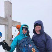 Vorarlbergs höchsten Gipfel erklommen