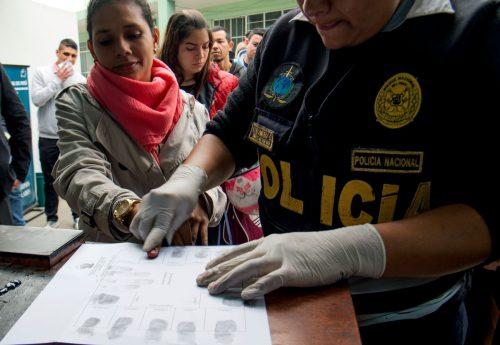 Bis Juni hat Kolumbien fast eine halbe Million Venezolaner registriert. AFP