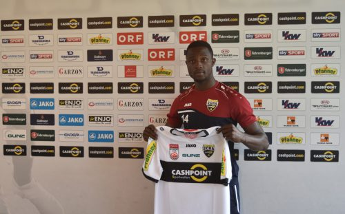 Brian Mwila unterschrieb für drei Jahre beim Cashpoint SCR Altach. Verein
