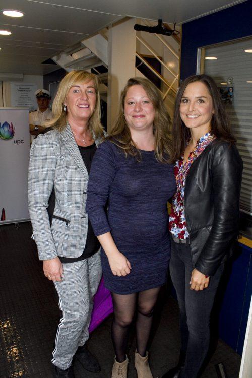 Damentrio: Karoline Riedmann (l.), Nadine Tromke und Eva Voit.