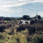 Blackbox nach Flugzeugunglück in Mexiko gefunden