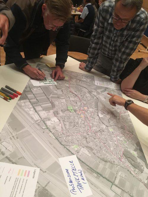 Das neue Verkehrskonzept wurde mit Bürgerbeteiligung erarbeitet. VN/GMS