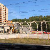 Abbrucharbeiten für neue Bahnhofcity angelaufen