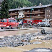 Großes Aufräumen nach Unwetter im Salzburger Glemmtal