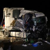 150.000 Euro Schaden bei Lkw-Unfall