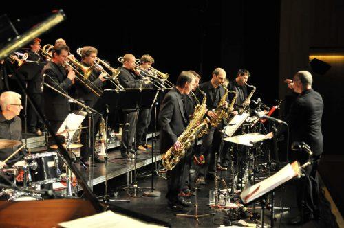 Der Big Band Club Dornbirn feiert heuer 50-jähriges Bestehen und tritt beim Jazzfestival am Samstag um 21 Uhr mit George Nußbaumer auf. stadt Bludenz/Grasmuck