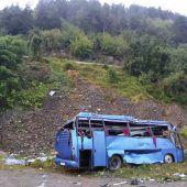 16 Dorfbewohner sterben bei Unfall