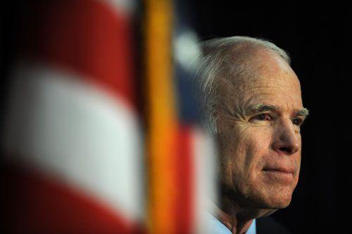 Der frühere US-Präsidentschaftskandidat McCain war ein Querdenker, die Idealfigur des Unangepassten: ein Image, das er sich aufgebaut und gepflegt hat.AFP