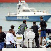 Minderjährige Migranten dürfen Schiff verlassen