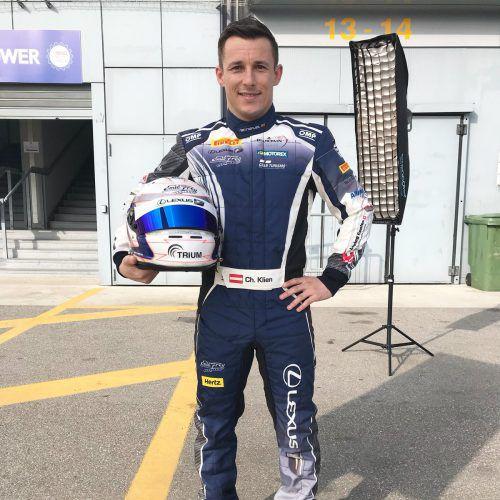 Der Hohenemser Christian Klien freut sich auf seine nächsten Rennen in Ungarn. VN