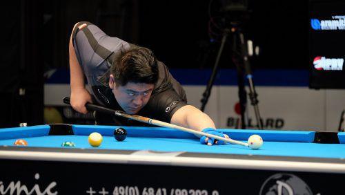 Der Rankweiler Mario He gewann bereits sein drittes Turnier auf der Eurotour und führt die Europarangliste an.privat