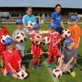 Sommercamp für Fußball-Nachwuchs