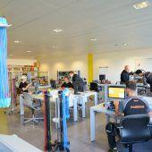 Neue Blum-Lehrwerkstatt in Bregenz