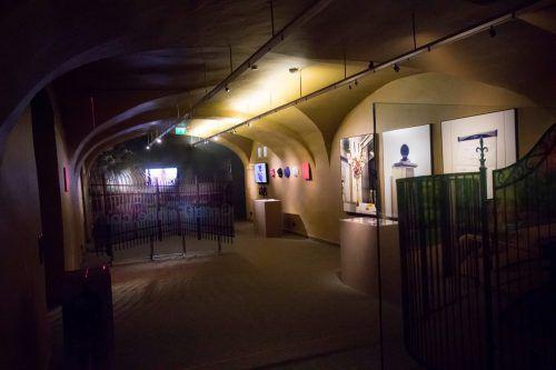 """Die Ausstellung """"Sag Schibbolet!"""" zeigt sichtbare und unsichtbare Grenzen. VN"""