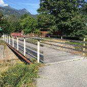 Radbrücke in Bürs wird erneuert
