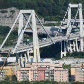 Auch Rest von Morandi-Brücke in Genua einsturzgefährdet