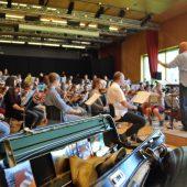 Jungsinfoniker proben für großes Konzert