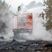 Evakuierungen nach Waldbrand
