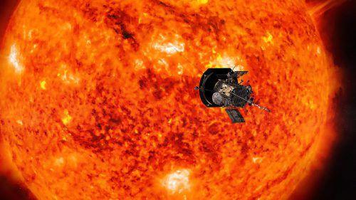 """Die NASA-Sonde """"Parker Solar Probe"""" soll die Atmosphäre der Sonne untersuchen und neue Erkenntnisse liefern. AFP"""
