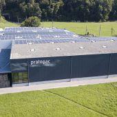 Eigenes Kraftwerk für Pratopac