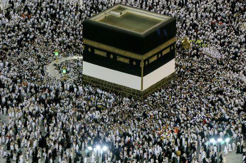 Die Pilgerfahrt gehört zu den fünf Grundpflichten des Islam. ap