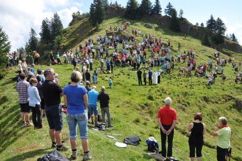 Die Polizei-Bergmesse findet am Sonntag wieder am Hochhäderich statt. Polizei