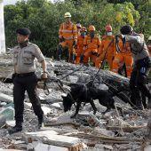 Suche nach Opfern von Erdbeben geht weiter
