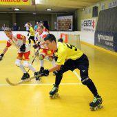 Internationales Rollhockey-Fieber in der Stadthalle